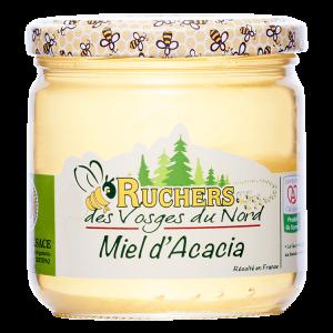 miel de producteur d'acacia medaille d'or certifié IGP Alsace