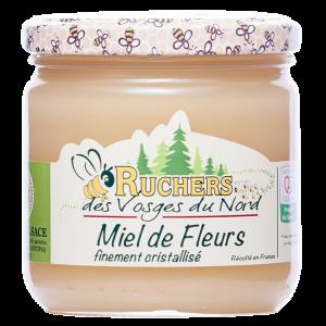 miel de fleurs cristallisé igp certifié Alsace