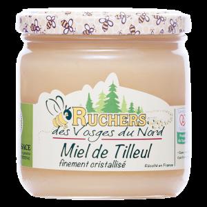 miel de tilleul cristallisé certifié Alsace IGP
